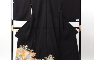 単衣の高級黒留袖
