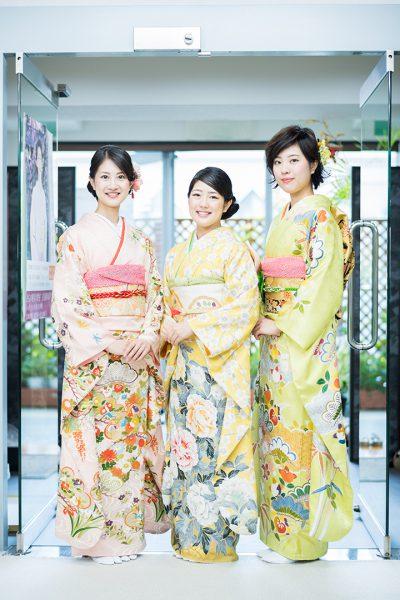 振袖の三姉妹