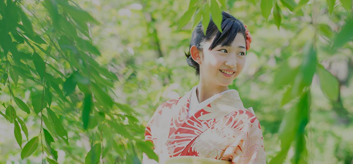 成人の日 本日のお客様の振袖姿 4