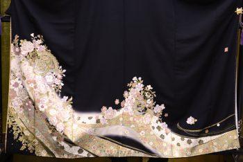 桂由美ブランド黒留袖レンタル