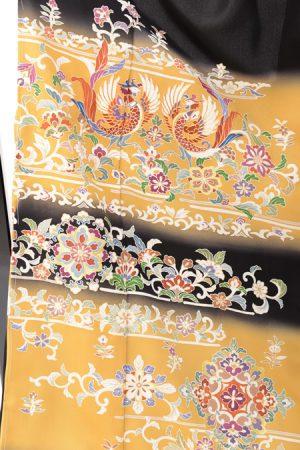 上質の京友禅幅広留袖レンタル