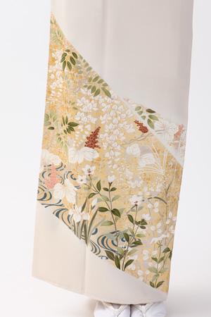 最高級の京友禅色留袖レンタル