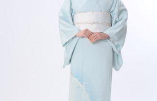 京の老舗染匠による単衣訪問着