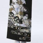 お客様レビュー 「最高級黒留袖 T-610 山口美術織物・総刺繍・四季の花」