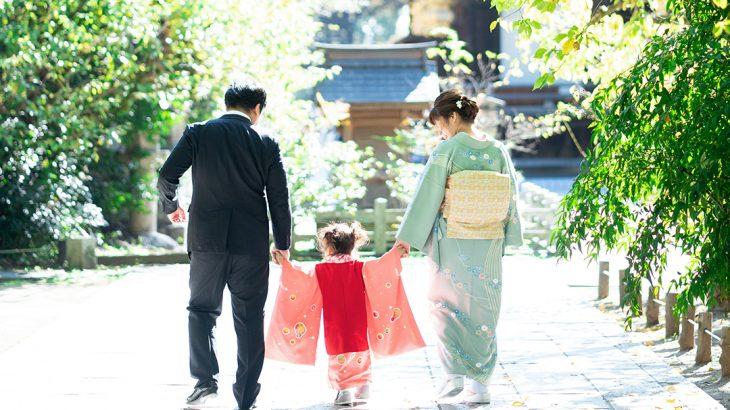 きもので家族撮影→年賀状作成しませんか?