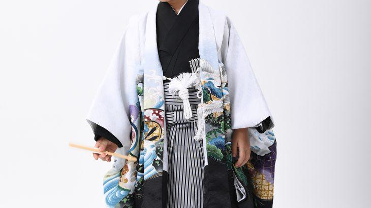 新作の5歳男児 羽織・袴 追加いたしました!